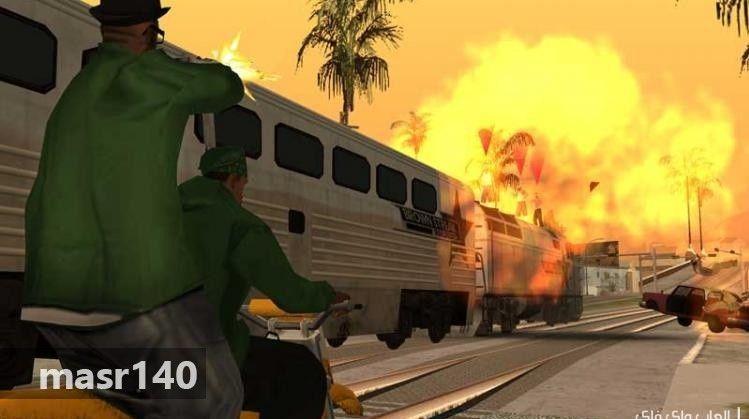 تحميل لعبة جاتا سان اندرس Gta San Andreas 2018 كاملة مجانا لجميع