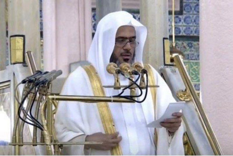 إمام المسجد النبوي: سورة الإخلاص قصيرة المباني بليغة المعاني