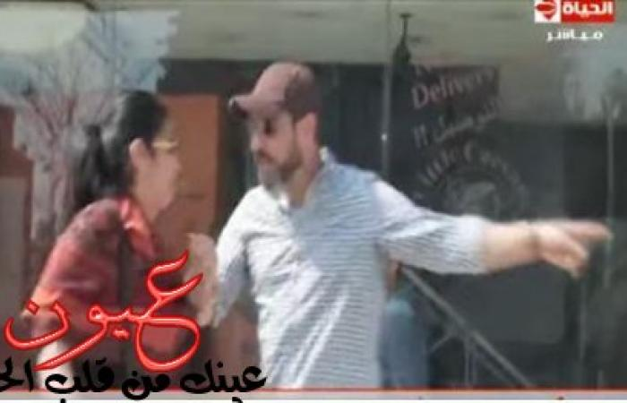 بالفيديو.. علقة ساخنة لمذيعة «الحياة» في الشارع