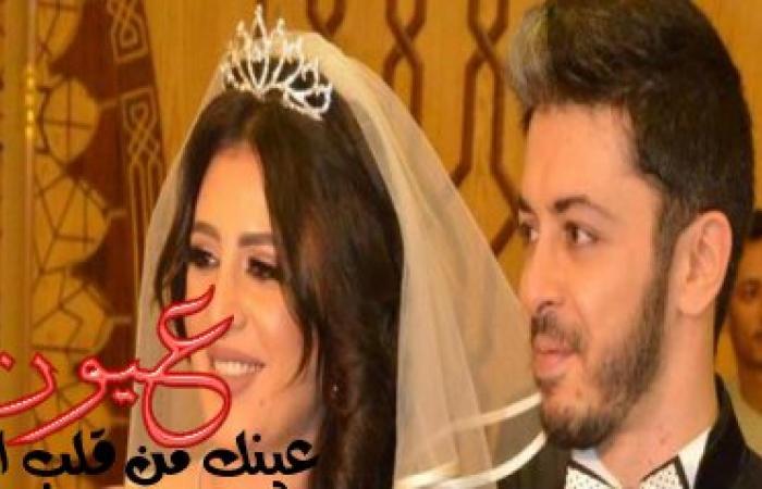 بالصور.. فستان وفاء قمر القصير يثير الجدل في عقد قرانها بمسجد الشرطة