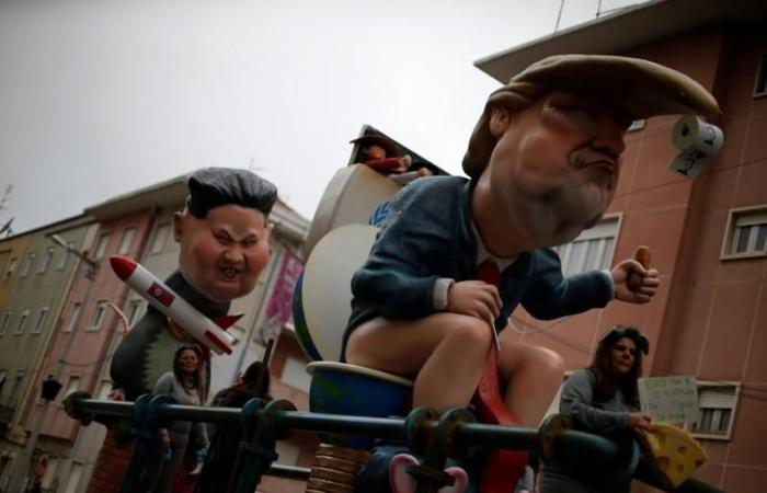 كرنفال برتغالي يسخر من ترامب وبوتين وكيم جونج أون (صور)