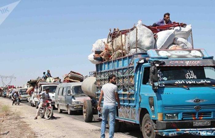 عودة المهجرين تتزايد... 400 سوري يعبرون نصيب من الأردن
