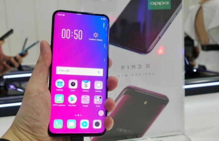أوبو تكشف عن نموذج هاتف Find X بتقنية 5G