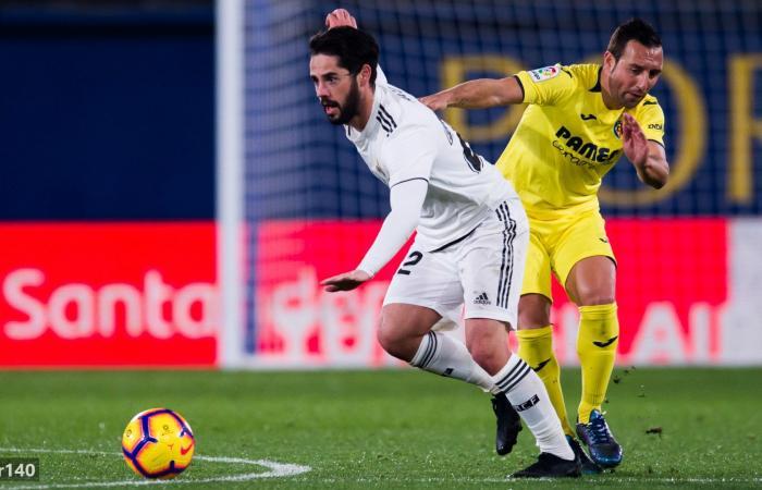فياريال ضد الريال.. ريال مدريد ينهى الشوط الأول ويكتسح فياريال بثنائية من توقيع بنزيما وفاران