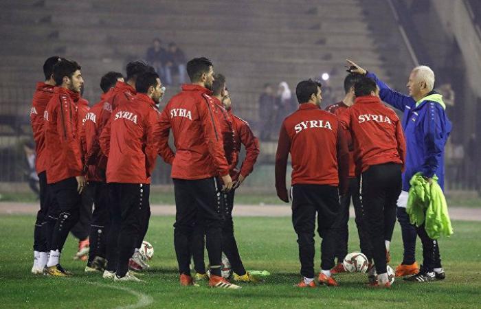 قطر تعالج لاعبا سوريا أصيب مع منتخب بلاده