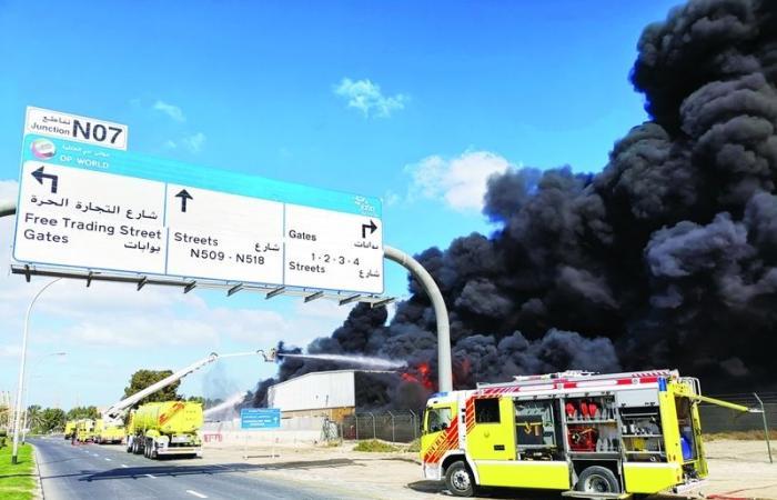 موجز الإمارات| تحذيرات الأرصاد الجوية .. «إصدار شهادة الوفاة الإلكترونية» .. حريق مصنع في «جبل علي»