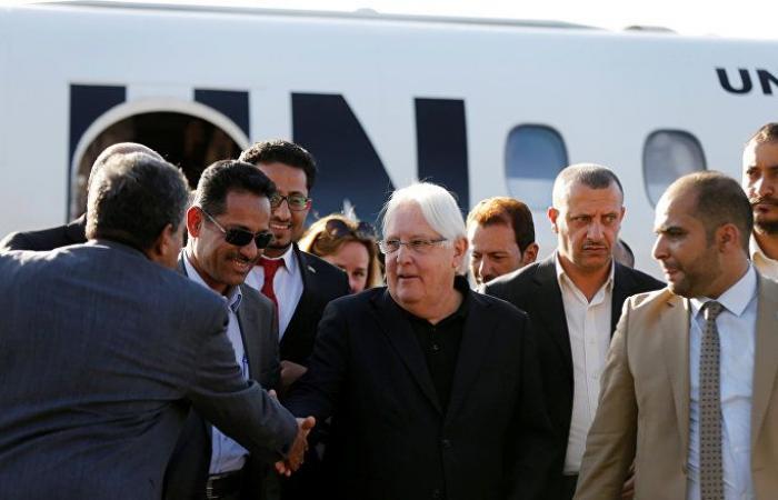 غريفيث: أطراف النزاع في اليمن تتحرك بسرعة نحو التقدم رغم الصعوبات
