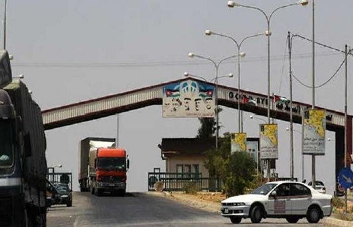 سوريا تقرر اعتماد معبر جابر حصراً لدخول البضائع الآسيوية