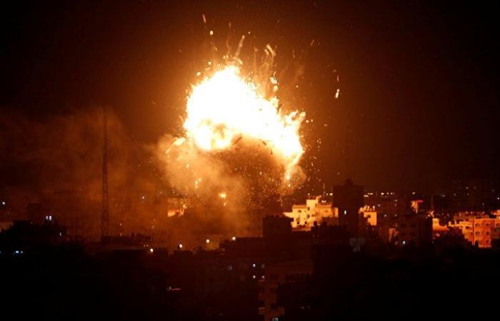 الجيش الإسرائيلي يعلن استهداف موقعين لحماس في غزة