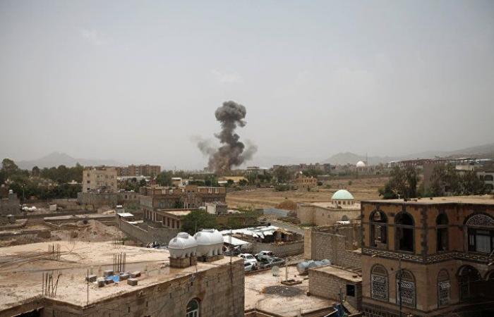 اليمن... التحالف يقصف محافظة صعدة على الحدود مع السعودية