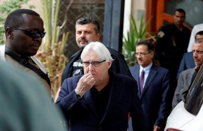 غريفيث يصل إلى صنعاء لمناقشة مقترح لإعادة الانتشار في الحديدة