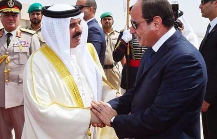 ملك البحرين يتسلم دعوة من الرئيس السيسي لحضور القمة العربية الأوروبية