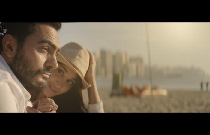 تامر حسني يُبهر جمهوره بـ''ناسيني ليه''.. مشاهدات قياسية وترند مصر بعد ساعات من طرحه.. ومن هى أسيل عمران بطلة ''الكليب''