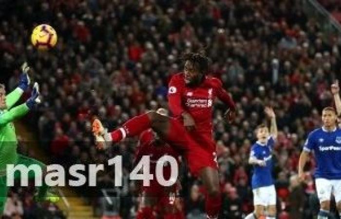 شاهد مباراة ليفربول وايفرتون بالفيديو الفرص المهدرة