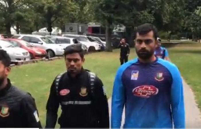 فيديو وصور.. فريق بنجلاديش للكريكيت ينجو من حادث مسجد النور بمدينة كرايست تشيرش بنيوزيلندا