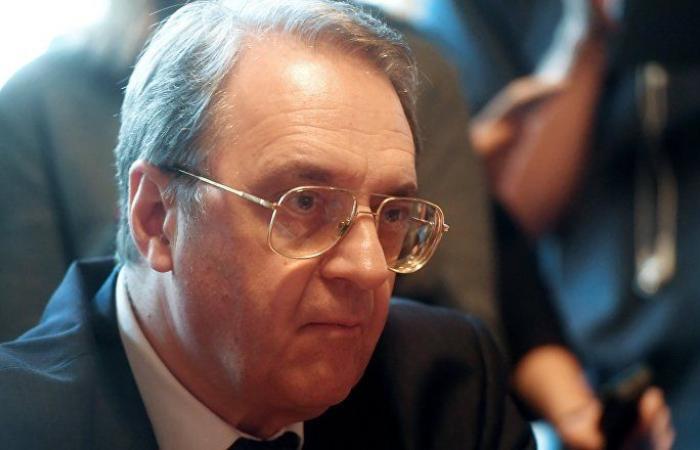 بوغدانوف يصل السودان حاملا رسالة من بوتين للبشير