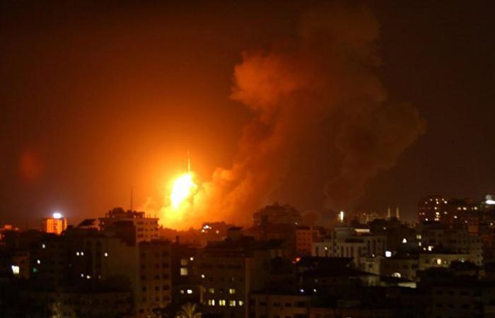 الجيش الإسرائيلي يشن غارات جوية على قطاع غزة