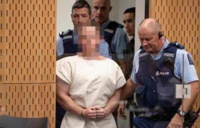 قضاء نيوزلندا يوجه تهمة القتل العمد لمنفذ الهجوم الإرهابى