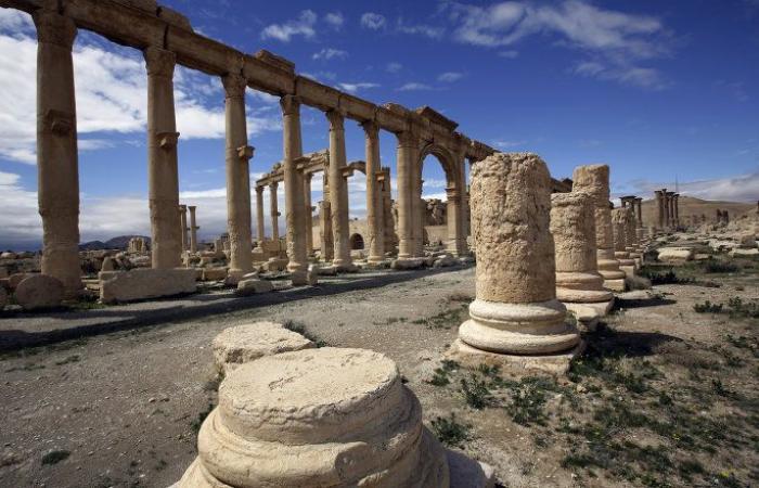 تدمر تنفض غبار الإرهاب استعدادا لاستقبال السياح