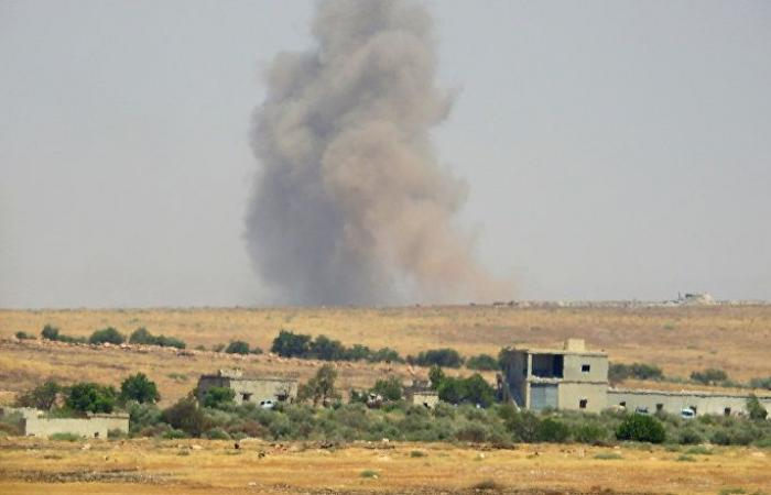 مقتل امرأة حامل بقصف صاروخي من قبل الجماعات الإرهابية على بلدات بريف حماة