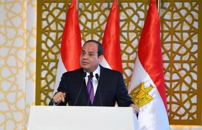 السيسي يشهد الجلسة الافتتاحية لملتقى الشباب العربي الأفريقي
