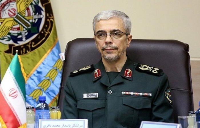 رئيس أركان الجيش الإيراني يتوجه إلى سوريا على رأس وفد عسكري
