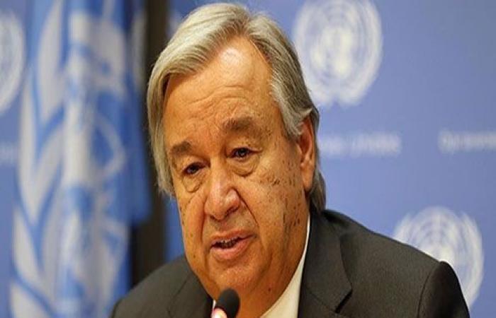 غوتيريش: لا سلام في سوريا إلا عبر حل سياسي