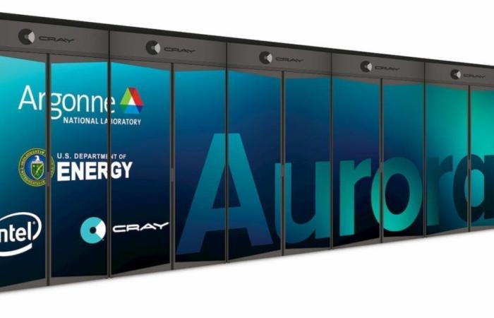 إنتل: حاسب Aurora العملاق يجري مليار مليار عملية حسابية في…