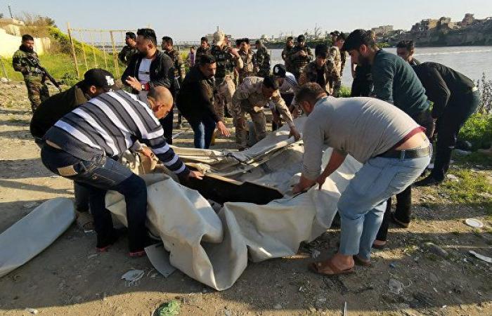 القضاء العراقي: إيقاف 9 أشخاص على خلفية غرق العبارة شمالي العراق