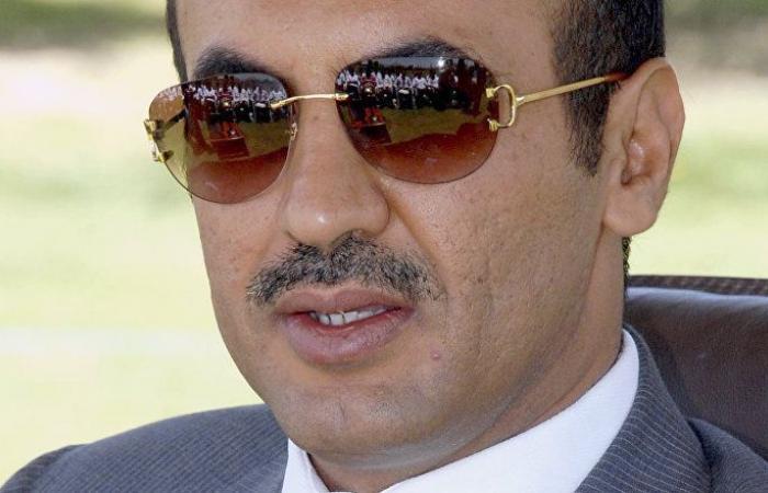 أحمد علي عبدالله صالح يفاجئ الجميع ببيان عاجل يتعلق بوالده