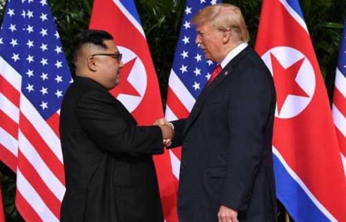 صحيفة أمريكية: ترامب يلغي عقوبات ضد بيونج يانج
