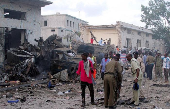 """حركة """"الشباب"""" تتبنى هجوما استهدف مبنى وزارة العمل في الصومال"""