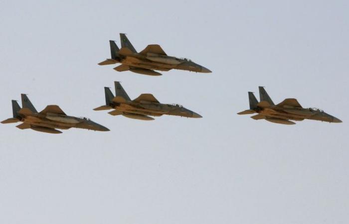 التحالف يشن غارات جوية على مواقع للحوثيين في صنعاء