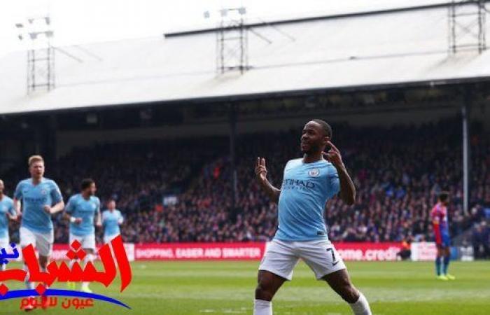 مانشستر سيتي يفوز علي كريستال بالاس ويقترب نحو لقب الدوري الإنجليزي