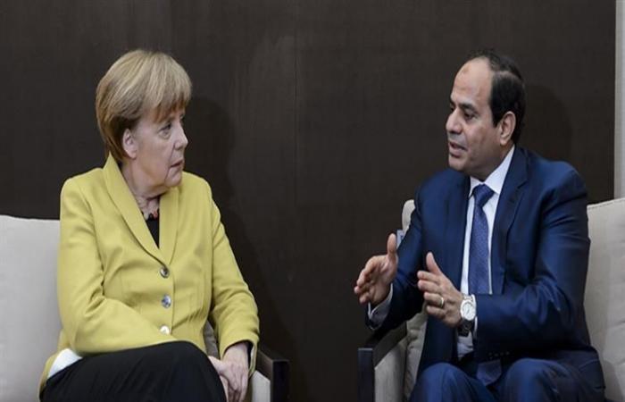 الرئاسة تكشف تفاصيل مكالمة السيسي وميركل حول الأوضاع في ليبيا والسودان