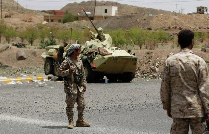 """الجيش اليمني يعلن مقتل 20 وإصابة 10 من """"أنصار الله"""" بمواجهات شمال الضالع"""