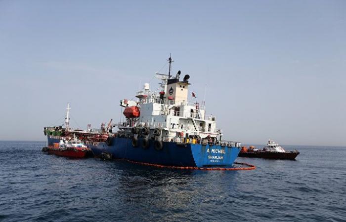 فيديو للسفن المتضررة قبالة السواحل الإماراتية يكشف العديد من الأسرار