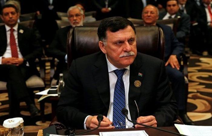 ليبيا: السراج يبحث مع شيوخ وأعيان ووجهاء برقة شرقي البلاد تداعيات الأحداث في طرابلس