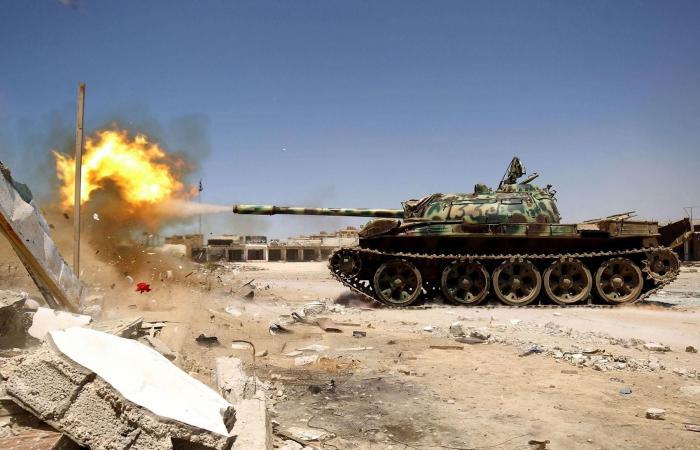 عاجل| الجيش الليبي يقصف مواقع الميليشيات ويقترب من طرابلس
