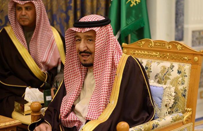 الملك سلمان يستقبل ولي عهد دبي ورئيس مجلس الأمة الكويتي (صور)