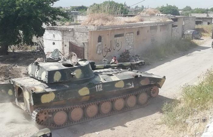 الجيش السوري يتصدى لهجوم عنيف على بلدة كفر نبودة بريف حماة