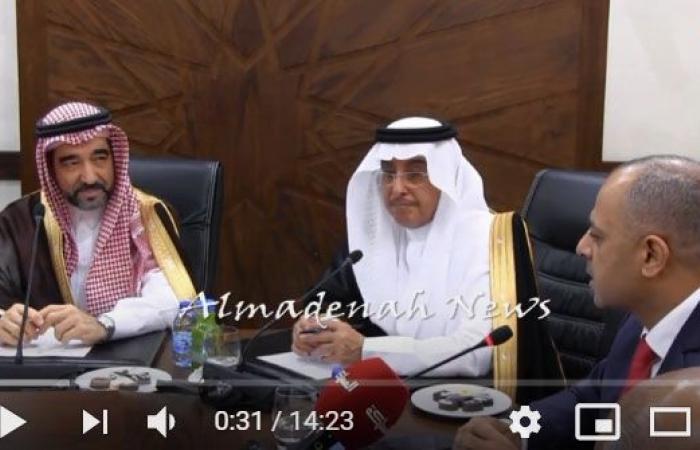 بالفيديو : لقاء دافئ بين أبو صعيليك ولجنته وأعضاء الاخوة البرلمانية الاردنية السعودية ( ماذا قال الطرفان )