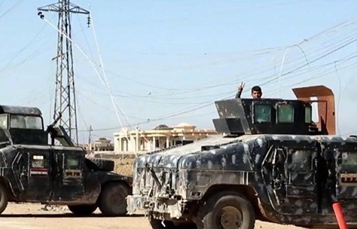 """شاهد... القوات العراقية تعتقل """"أم المجاهدين"""" في تنظيم """"داعش"""""""