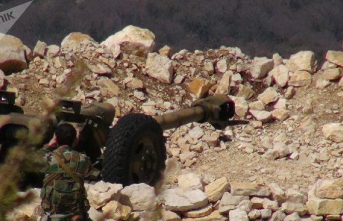 الطيران السوري والروسي يسحق مئات المسلحين في ريفي حماة وإدلب