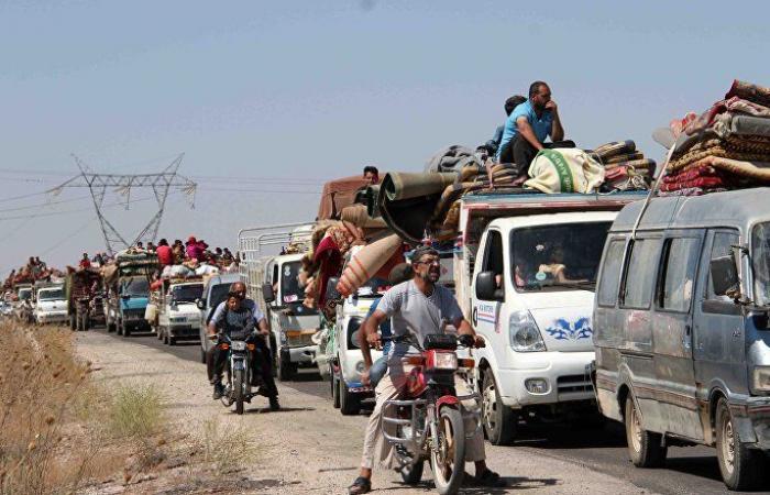 عودة أكثر من 1.6 ألف لاجئ إلى سوريا خلال الــ 24 ساعة الأخيرة