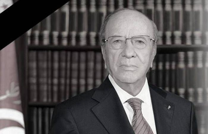 عاجل.. وفاة الرئيس التونسي