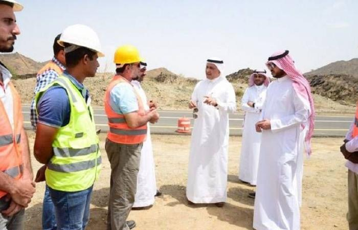 بالصور..رئيس شركة المياه السعودية يتفقد رفع كفاءة سد وادي بيش
