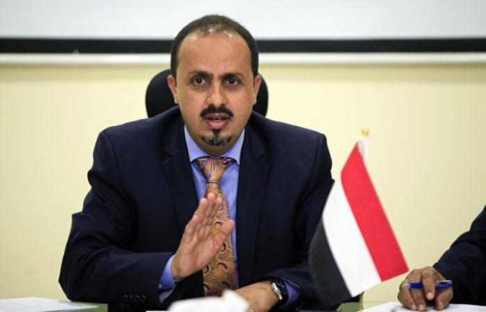 وزير الإعلام اليمني يوجه المؤسسات في عدن بعدم التعامل مع المجلس الانتقالي الجنوبي
