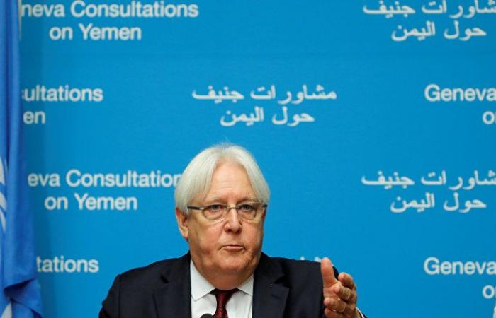 غريفيث: تقسيم اليمن تحول إلى تهديد حقيقي