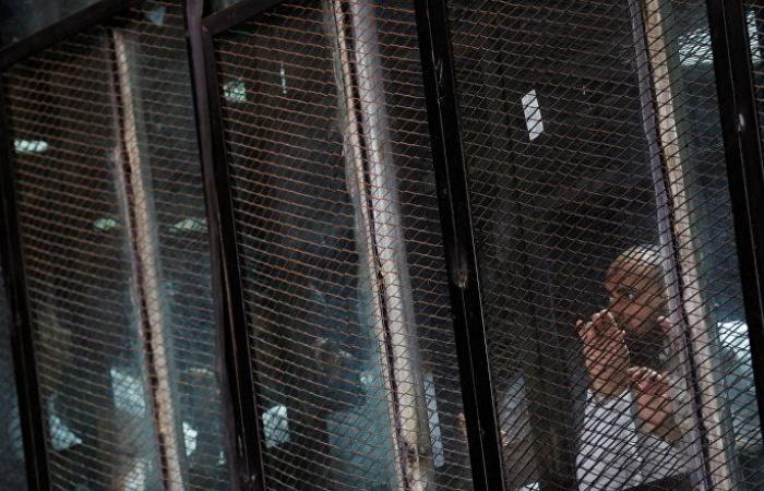 """مصر... المؤبد لـ 11 من قيادات وعناصر جماعة الإخوان المسلمين في قضية """"التخابر مع حماس"""""""